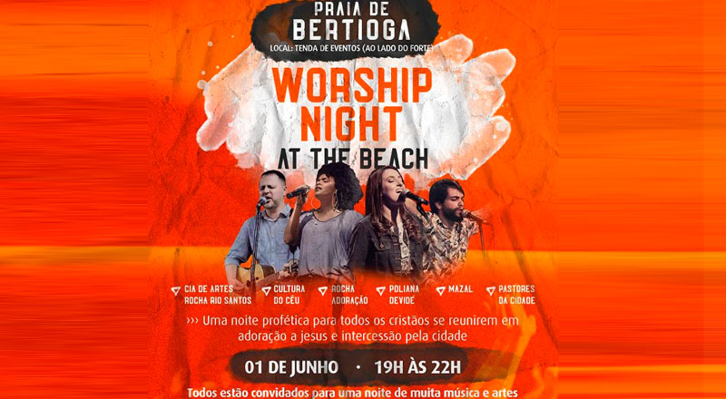 Worship Night on the beach